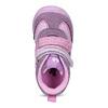 Růžové dětské kotníčkové tenisky bubble-breathe, fialová, 121-0702 - 17
