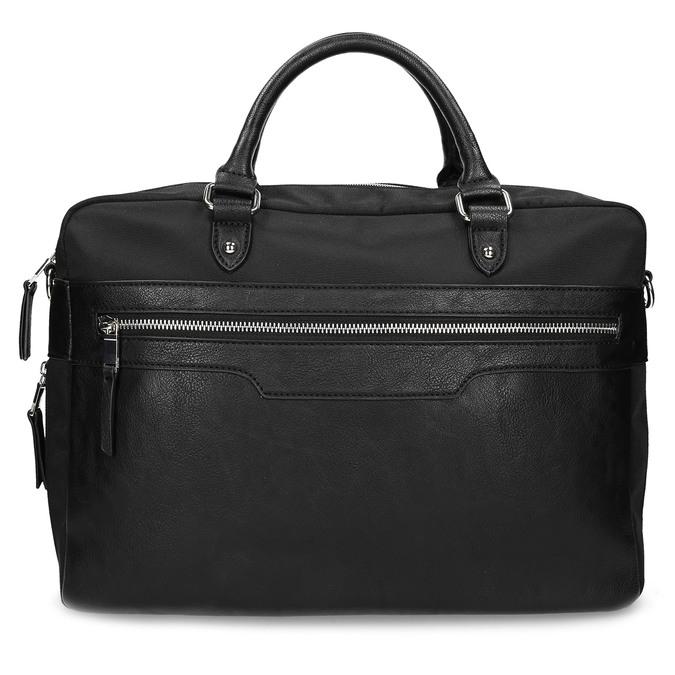 Pánská černá taška s popruhem bata, černá, 969-6950 - 26