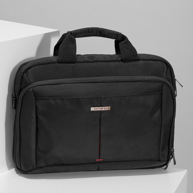 Taška s kapsou na notebook samsonite, černá, 969-6843 - 17