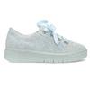 Kožené tenisky s mašlí modré bata, modrá, 543-9600 - 19