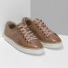 Dámské hnědé kožené tenisky bata, hnědá, 544-3601 - 26