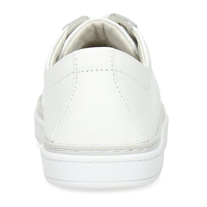 Kožené bílé dámské tenisky bata, bílá, 544-1601 - 15