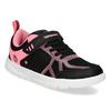 Dívčí černo-růžové tenisky bubble-breathe, černá, 321-6172 - 13