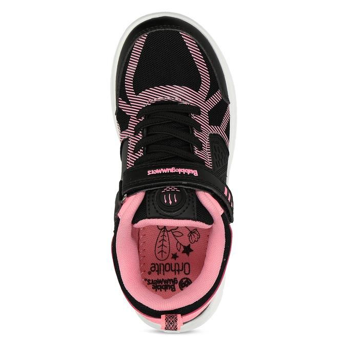 Dívčí černo-růžové tenisky bubble-breathe, černá, 321-6172 - 17