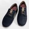 Ležérní modré polobotky z broušené kůže fluchos, modrá, 826-9844 - 16