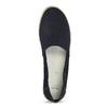 Tmavě modré kožené Espadrilky bata, modrá, 533-9602 - 17