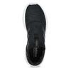 Dámské černé tenisky s výraznou podešví adidas, černá, 509-6129 - 17