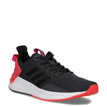 Černé dámské tenisky s červenými detaily adidas, černá, 509-2129 - 13