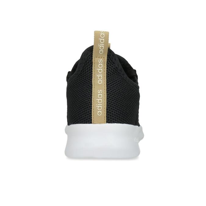 Černé dámské tenisky s hnědým detailem adidas, černá, 509-6469 - 15