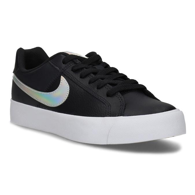 Nike Černé dámské tenisky s holografickým logem