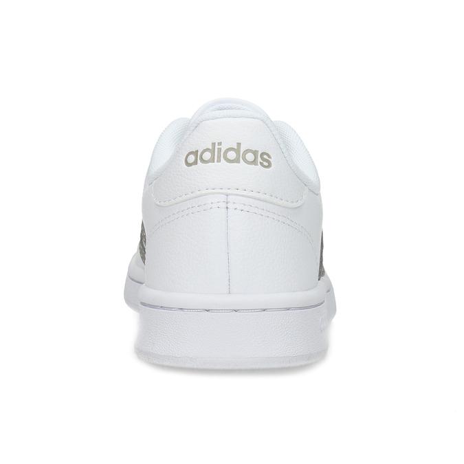 Bílé dámské ležérní tenisky adidas, bílá, 501-1249 - 15