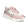 Dívčí dětské tenisky stříbrno-růžové mini-b, růžová, 321-5684 - 13