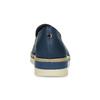 Kožené dámské mokasíny s perforací flexible, modrá, 514-9611 - 15