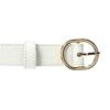 Bílý dámský pásek bata, bílá, 951-1702 - 26