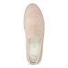 Růžové kožené slip-on tenisky bata, růžová, 533-5601 - 17