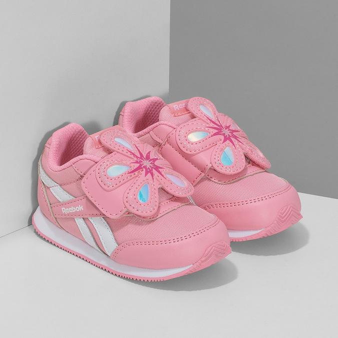 Dětské dívčí tenisky růžové reebok, růžová, 101-5128 - 26