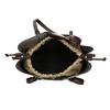 Zlatá dámská kabelka s perforací bata, zlatá, 961-8866 - 15