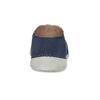 Pánské slip-on boty s perforací weinbrenner, modrá, 836-9687 - 15