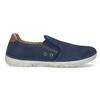 Pánské slip-on boty s perforací weinbrenner, modrá, 836-9687 - 19