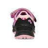 kožené dívčí tenisky v outdoorovém stylu mini-b, růžová, 423-5648 - 15