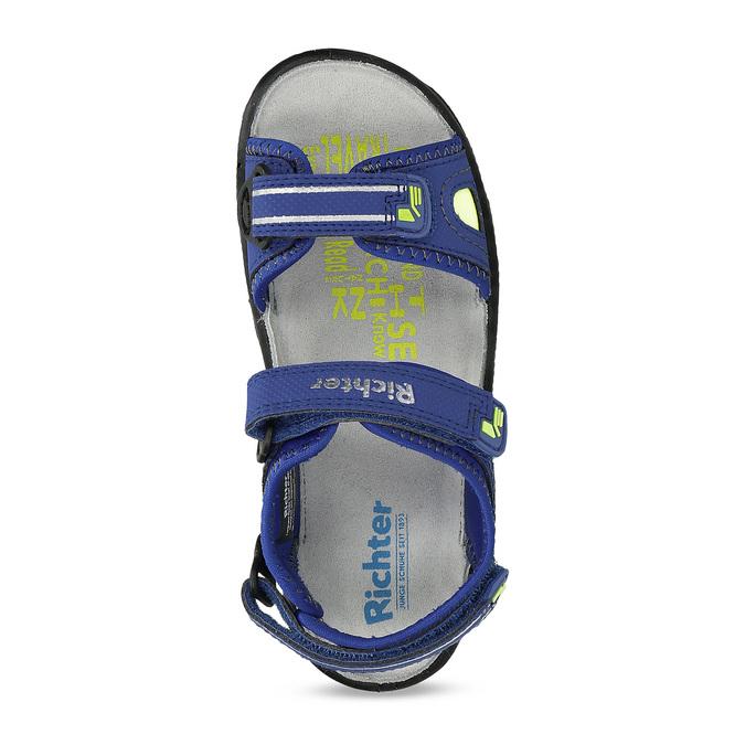 Dětské sandály modré richter, modrá, 361-9109 - 17
