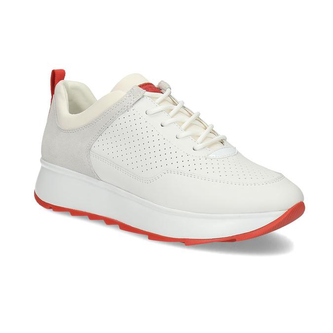55c99014df Geox Dámské tenisky na platformě kožené - Městský styl