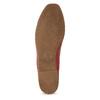 Dámské červené kožené Loafers vagabond, červená, 524-5079 - 18