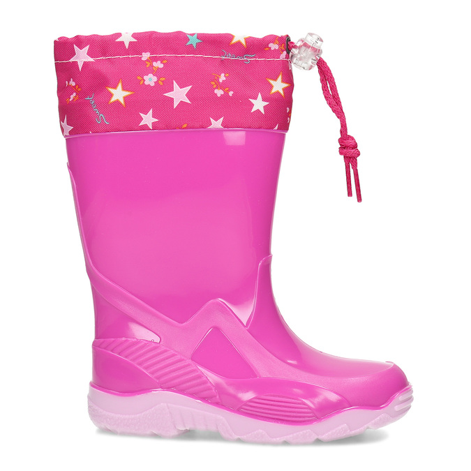 Dívčí holínky růžové mini-b, růžová, 192-5640 - 19