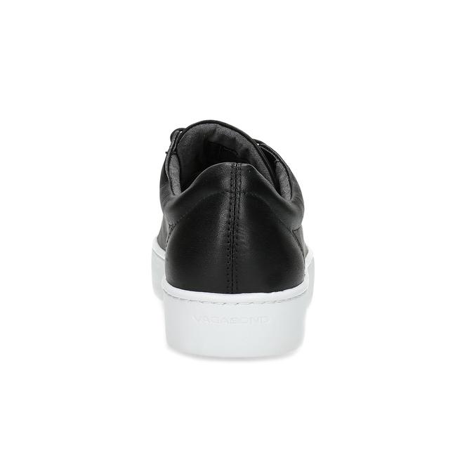 Černé kožené tenisky vagabond, černá, 624-6014 - 15
