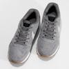 Pánské šedé tenisky z broušené kůže nike, šedá, 803-2166 - 16
