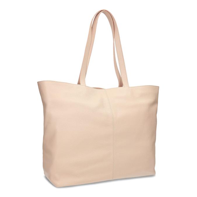 3c0793f227 Bata Béžová shopper bag kožená - Velké kabelky