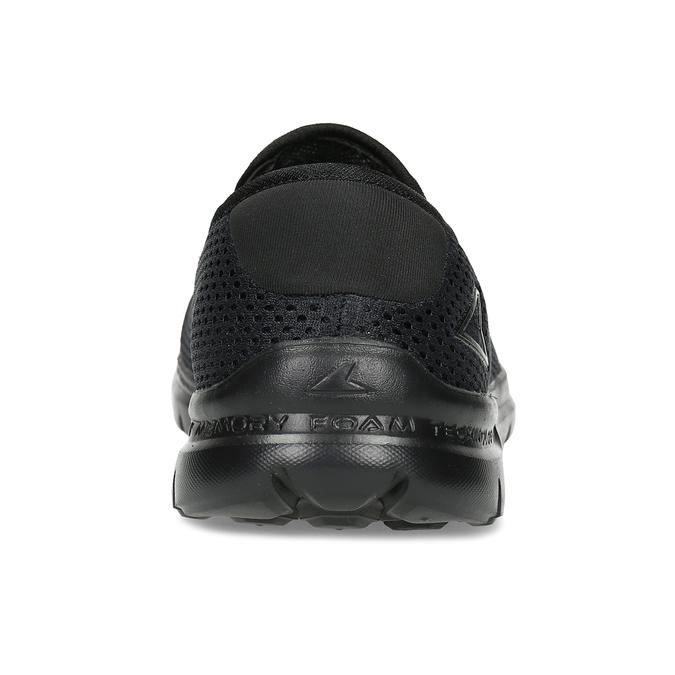 Černé sportovní Slip-on power, černá, 809-6318 - 15