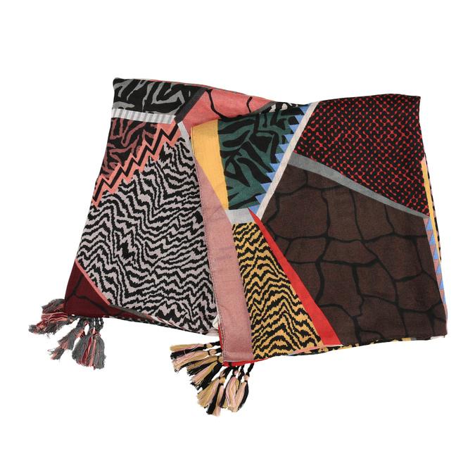 Dámský šátek vícebarevný bata, vícebarevné, 909-0362 - 13