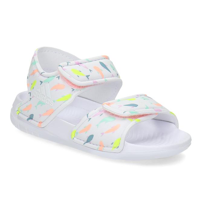 802d9b6b0 Adidas Dětské bílé sandály - Všechny dívčí boty | Baťa.cz