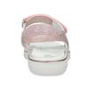 Růžové dětské sandály s kamínky mini-b, růžová, 461-5642 - 15