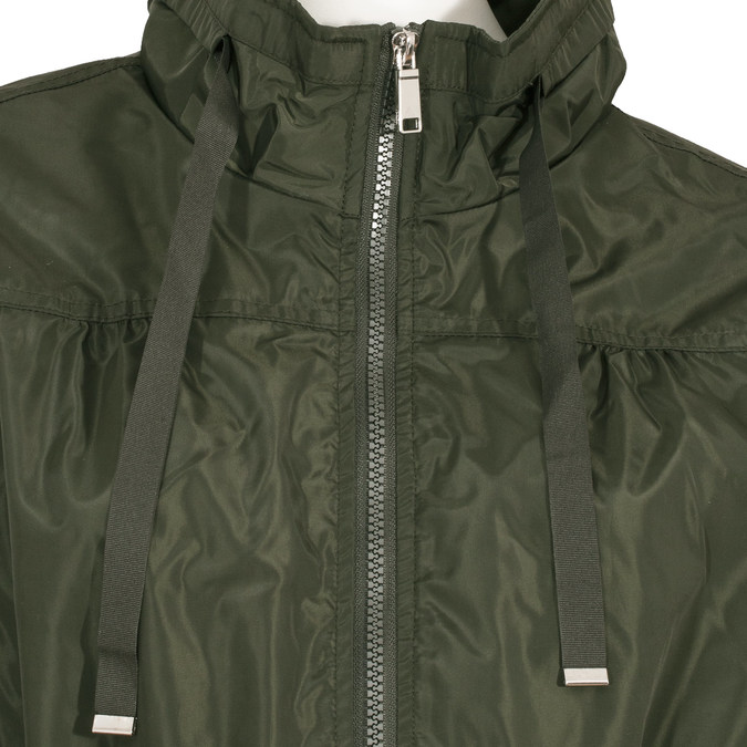 Dámská khaki parka bata, zelená, 979-7277 - 16