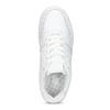 Bílé pánské ležérní tenisky s prošitím nike, bílá, 801-1124 - 17