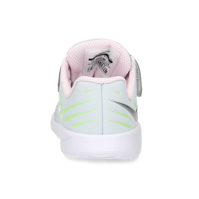 Šedo-růžové dětské sportovní tenisky nike, šedá, 109-1259 - 15