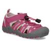 Růžové dívčí sandály outdoorového stylu mini-b, růžová, 261-5706 - 13
