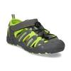 Sandály v outdoorovém stylu mini-b, šedá, 461-2616 - 13