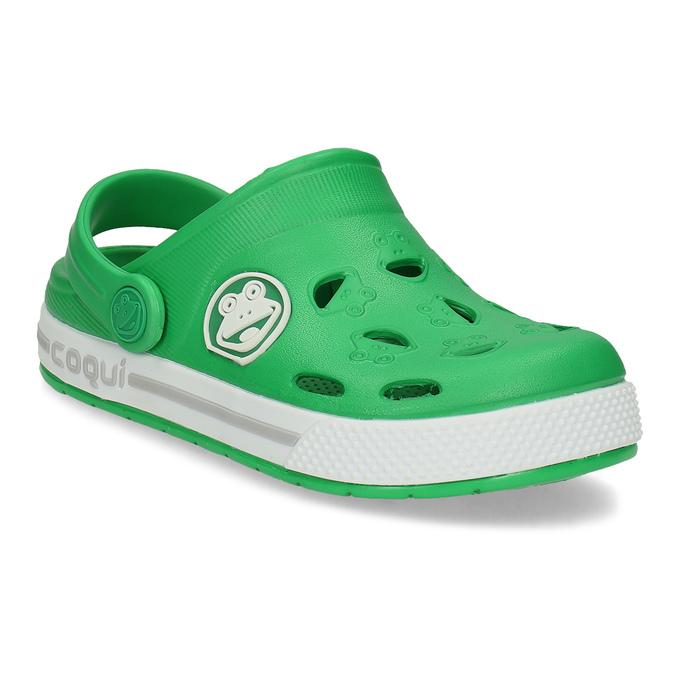 Chlapecké nazouváky zelené coqui, zelená, 372-7663 - 13