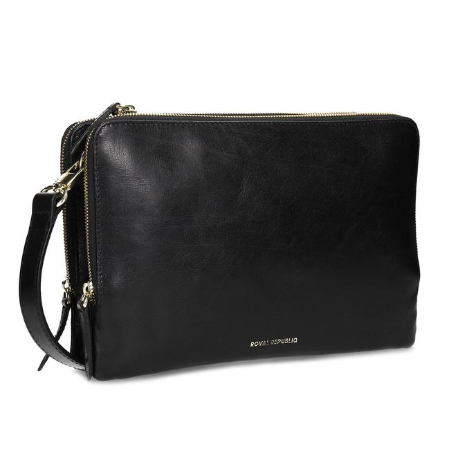 a605591b76 Royal Republiq Dámská kožená černá Crossbody kabelka - Kožené ...