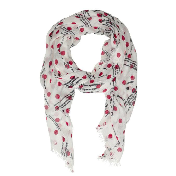 Lehký dámský šátek se vzorem bata, vícebarevné, 909-0507 - 16