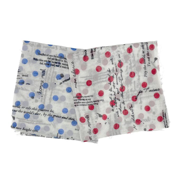 Lehký dámský šátek se vzorem bata, vícebarevné, 909-0507 - 13