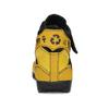 Žluté tenisky s černými detaily a průstřihy bata, žlutá, 544-8114 - 15
