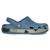 Modré pánské sandály typu Clogs coqui, modrá, 872-9618 - 19