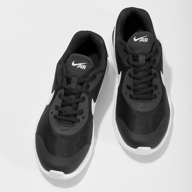 Černé tenisky ve sportovním stylu nike, černá, 409-6352 - 16