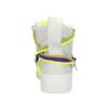 Bílé kotníčkové tenisky s barevnými tkaničkami bata, bílá, 544-1114 - 15