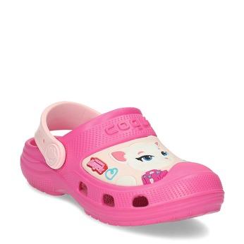 Růžové dětské sandály coqui, růžová, 272-5610 - 13