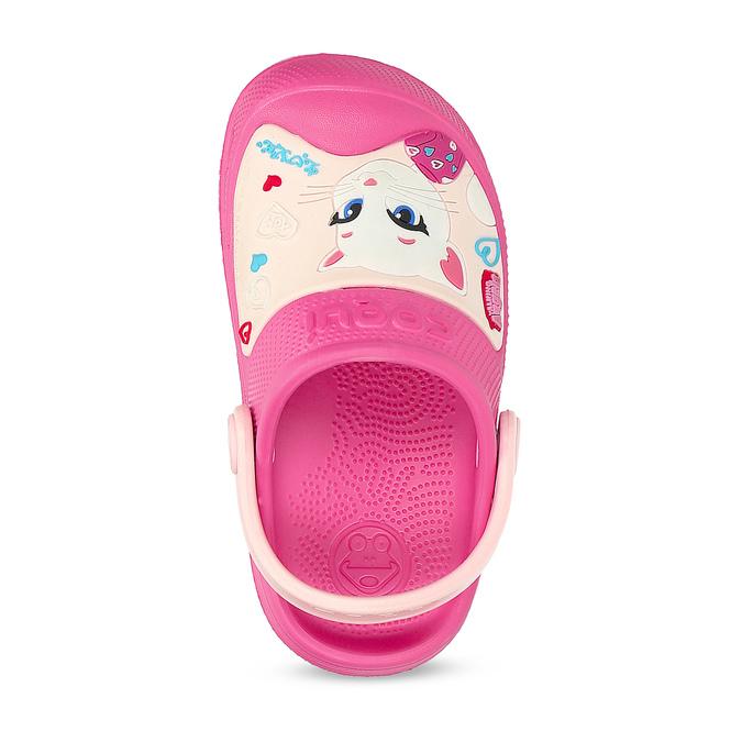 Růžové dětské sandály coqui, růžová, 272-5610 - 17